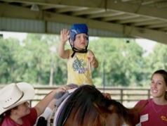 Young Rider at Instride Therapy in Nokomis