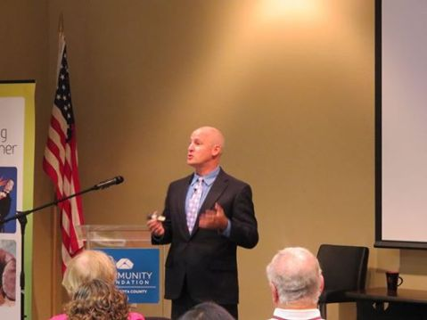 Bryan Clontz Speaking at the Community Foundation of Sarasota County